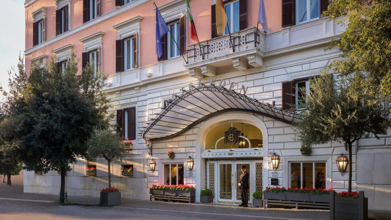 Hotel Eden - Dorchester Collection, Rome, Italy - YouTube