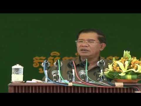 Hun Sen Long 03 06 2013 at Kampong Thom