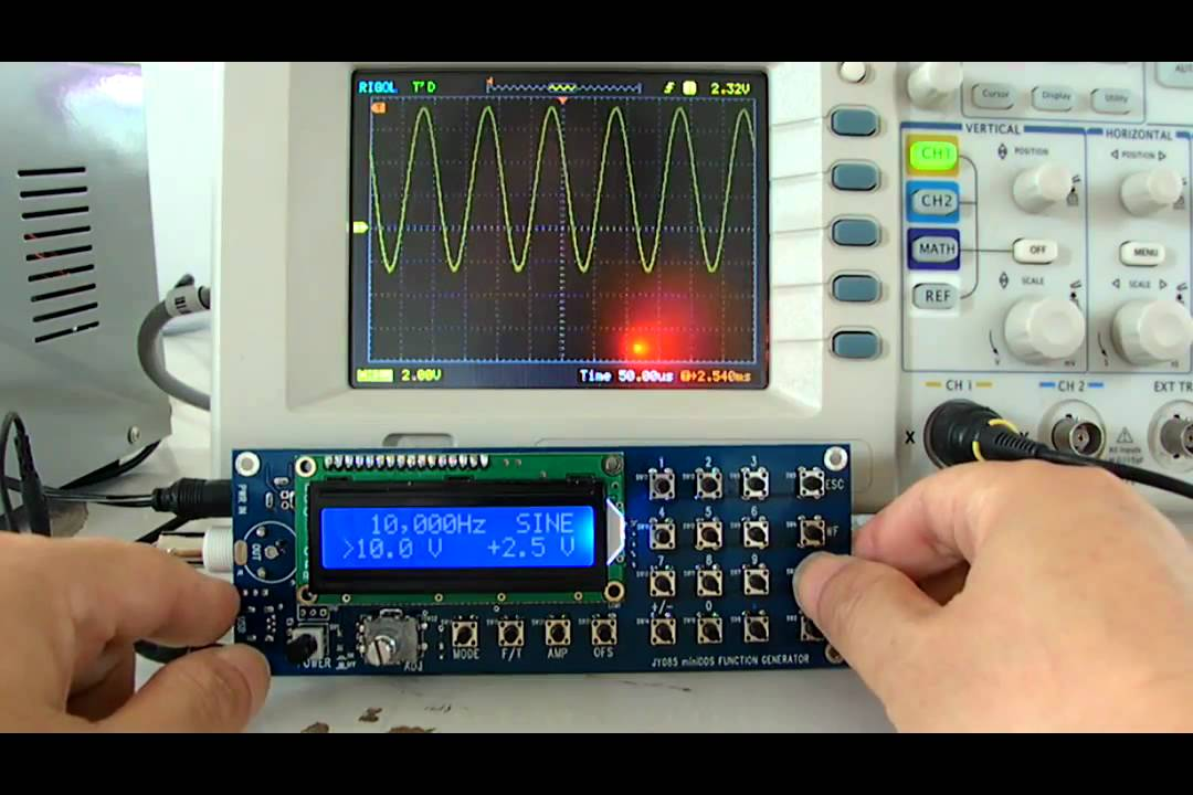 Jyetech Fg085 Demo - Function Generator