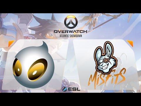 Overwatch - Dignitas vs. Misfits - Overwatch Atlantic Showdown - Gamescom Finals - Group A