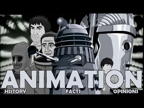 Doctor Who Podcast  The Animated History