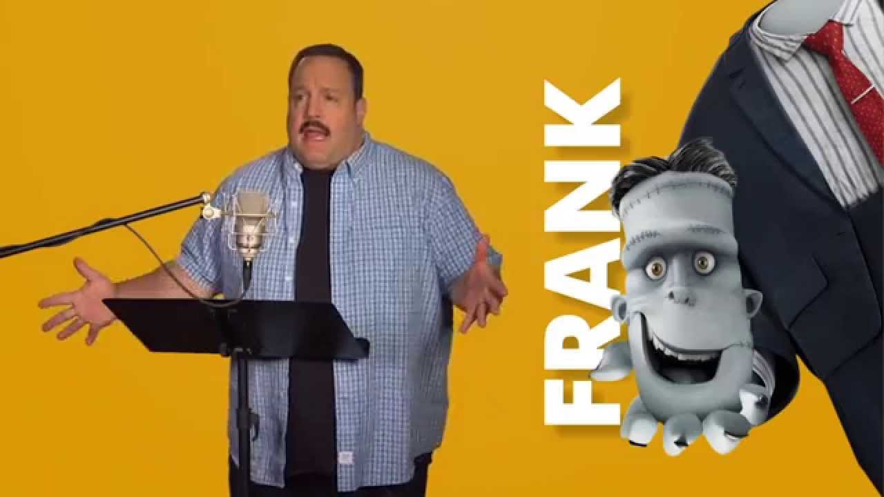 Hotel Transylvania 2 Kevin James Frankenstein Behind The Scenes Voice Acting