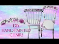 HAND-PAINTED CHAIR MAKEOVER   Emy Meowski