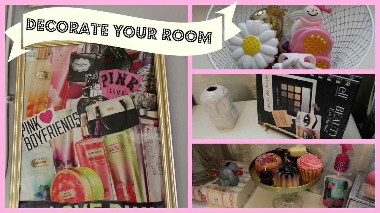 Dollar Tree Room Organizing U0026 Decorating Ideas #1!!! (LAURAXOBELLEZA)    YouTube