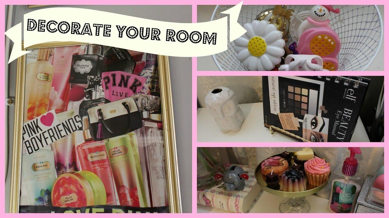 Dollar Tree Room Organizing & Decorating Ideas #1