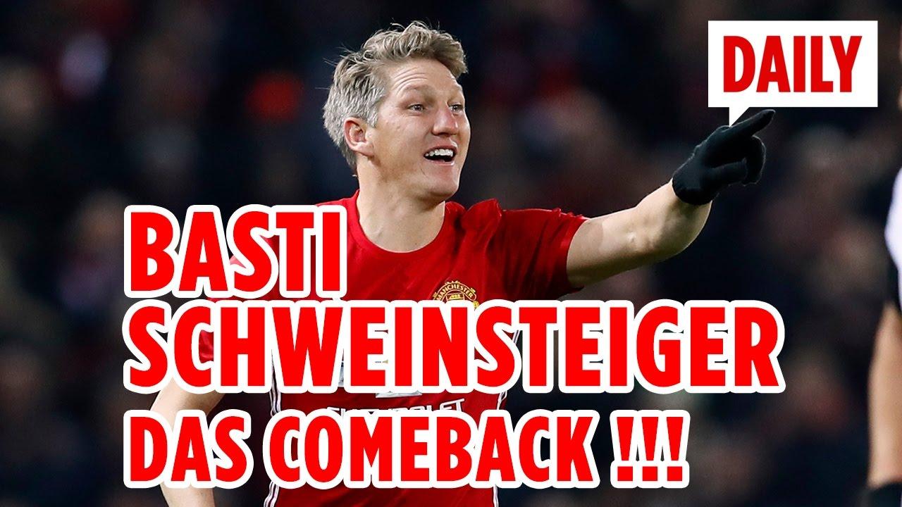 Schweinsteiger Comeback