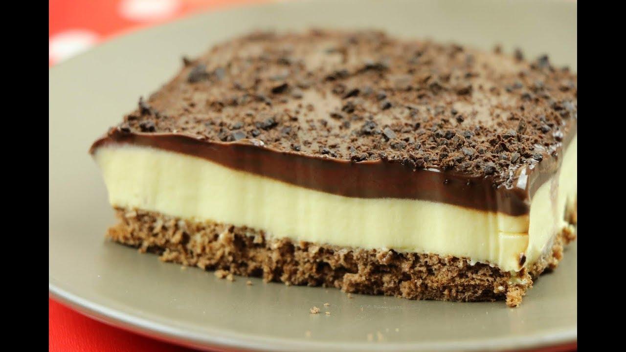 حلى بارد فاخر حلويات سهلة وسريعة ب 3 وصفات رائعة و بدون فرن مع رباح محمد Youtube