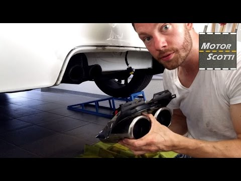 Installing A FOX Sports Exhaust - Part 1/2 - Peugeot RCZ