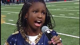 The Star Spangled Banner by 9 yr old Coco Jones