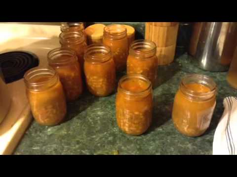 How To Pressure Can Navy Bean Soup