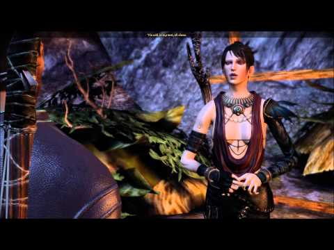 Dragon Age Origins -- First Night at Camp -- Gift Giving and Morrigan