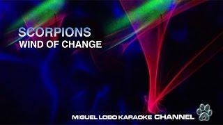 SCORPIONS - WIND OF CHANGE - Karaoke Channel Miguel Lobo