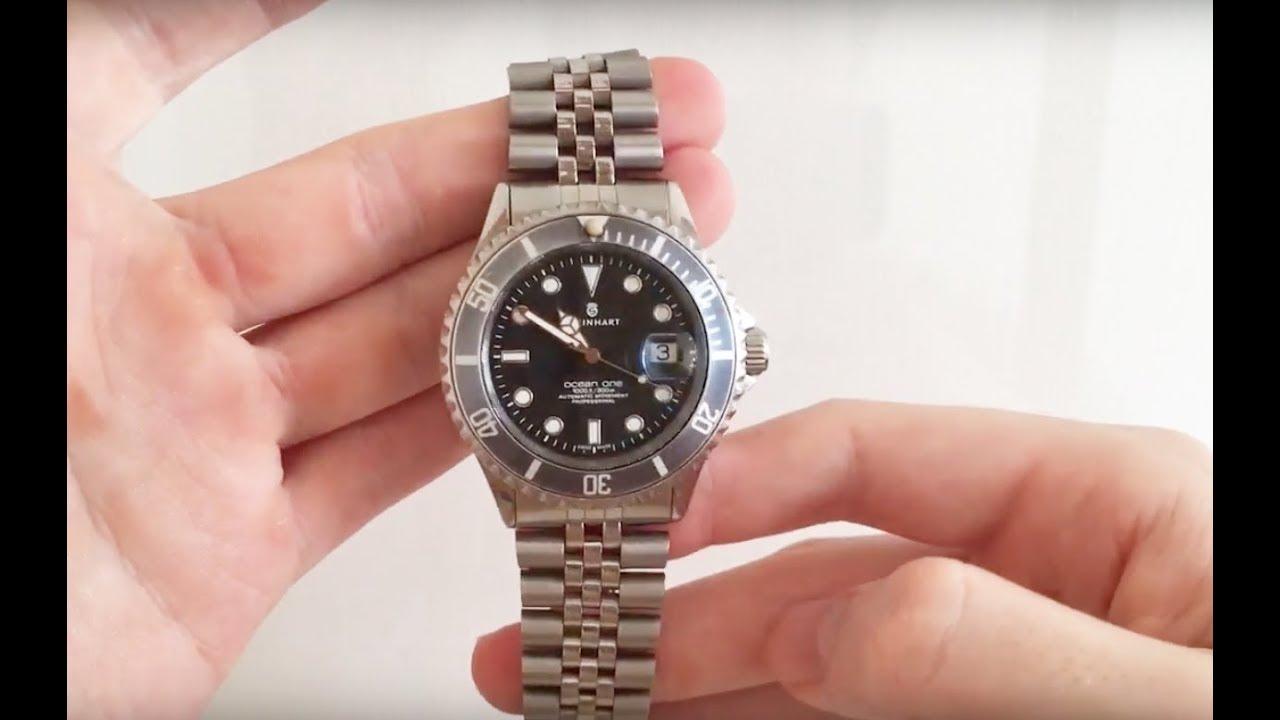 Steinhart Ocean-One on a Jubilee Bracelet?