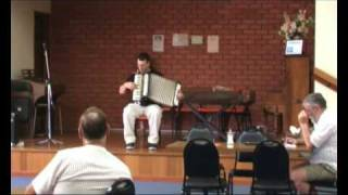 Bob Hornett at Accordion Competition - Drover