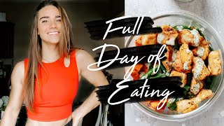 FULL DAY OF EATING | how my diet has changed after college athletics!!