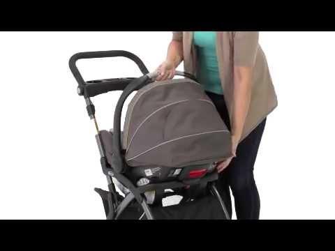 Graco Snugrider Elite Stroller - YouTube