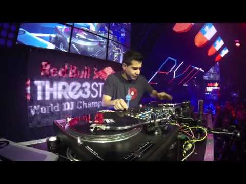 VICE CHAMP DJ BYTE FROM CHILE / RED BULL THRE3STYLE FINAL SET /