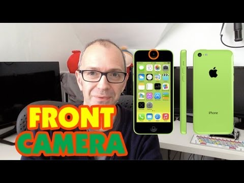 Apple iPhone 5c Front Facing Camera Video Test