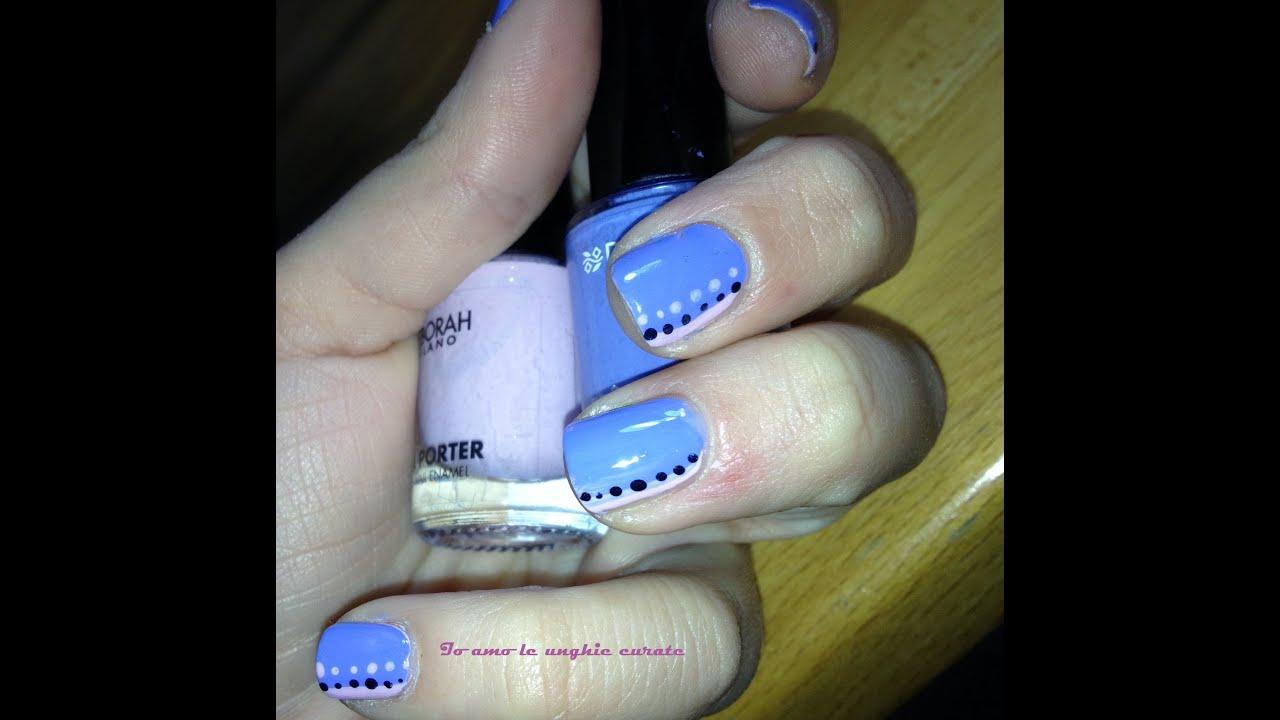 Q Riouser Q Riouser Nail Art: Tutorial Nail Art Semplice E Veloce