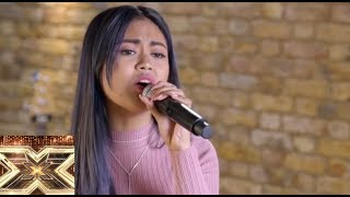 Maria Laroco (Judges House) Performs On Live Stream For Simon & 50 Hollywood Celebs|XFactor UK 2018