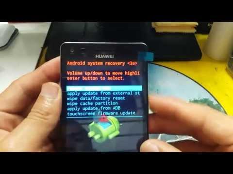 Hard reset Huawei G6 L33