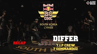 DIFFER (T.I.P) - Recap / Red Bull BC One South Korea 2015 / Allthatbreak.com