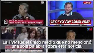 """Video: Trabajadores denuncian que el gobierno incorporó """"comisarios políticos"""" a los noticieros de la TV Pública."""
