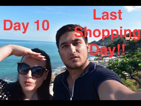 Day 10 of our Honeymoon Koh Samui (Lamai beach and Chewing beach shopping)