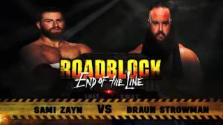 ROADBLOCK END OF THE LINE 2016 MATCH CARD