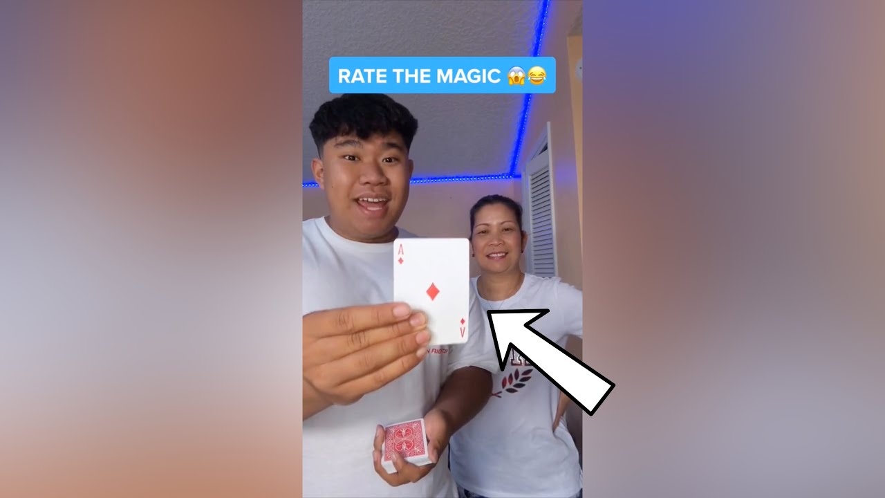 Mom REACTS to CRAZY Magic Tricks!! - #Shorts