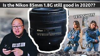 Nikon 85mm 1 8G still good in 2020