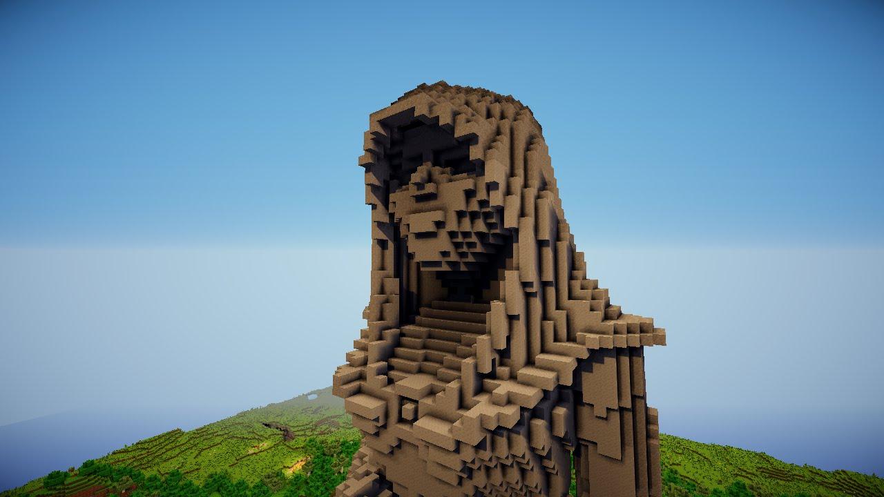 Wallpaper Girl 8k Minecraft Inspire Statue Youtube