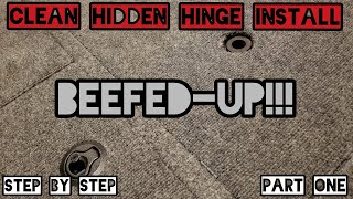 Clean Hidden Hinge Install BEEFED-UP!!! on Jon Boat to Bass Boat Part One