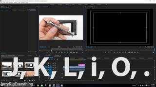 How to Edit Video with Adobe Premiere CC - JerryRigEverything WorkFlow 2017 Video