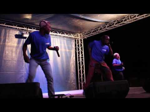 Mbuku and Thimbiko performing at Olufuko Centre 31 AUGUST 2016