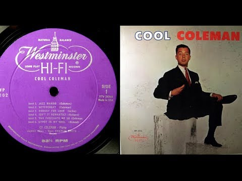 Cy Coleman, 1957: Cool Coleman  Complete LP  Westminster WP 6102