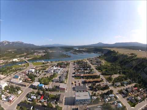 Nice Video Of Whitehorse Yukon From The Air