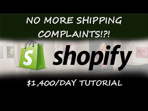 $1,400/Day Ecom Advice | How to Stop Shipping Time Complaints