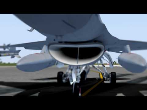IRIS Simulations and Triple Six Design Studio F-16D Teaser