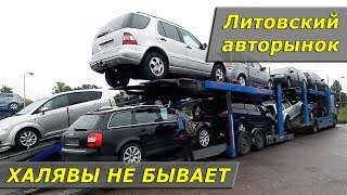 Видео для тех, кто хочет авто из Литвы / ХАЛЯВЫ НЕ БЫВАЕТ