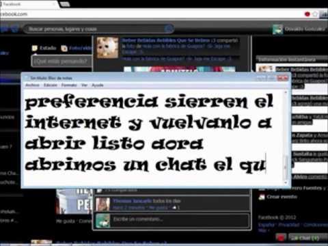 Activa El Nuevo Chat De Facebook 2012 (google Chrome).