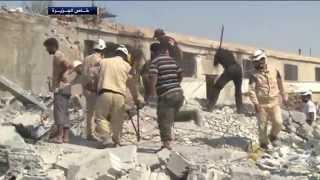 غارات للطيران الروسي تستهدف مواقع للمعارضة السورية