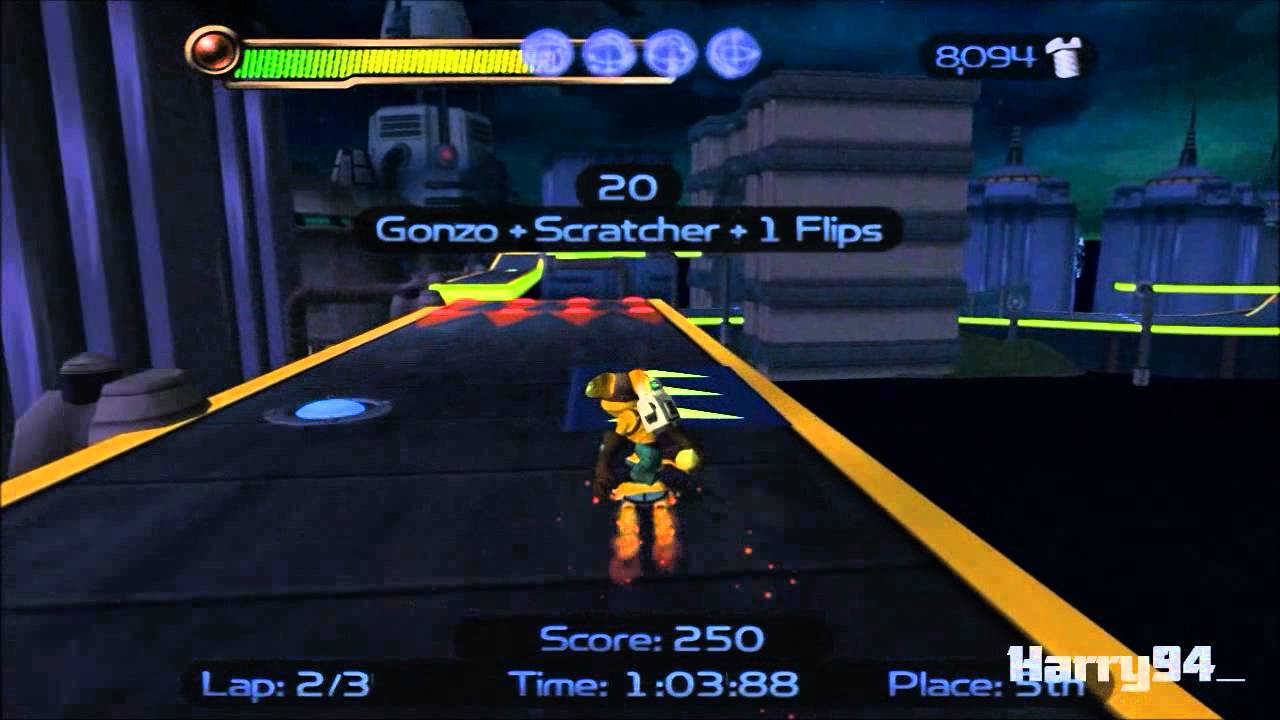 Ratchet Clank Hd Twisted Hoverboard Trophy Guide Youtube