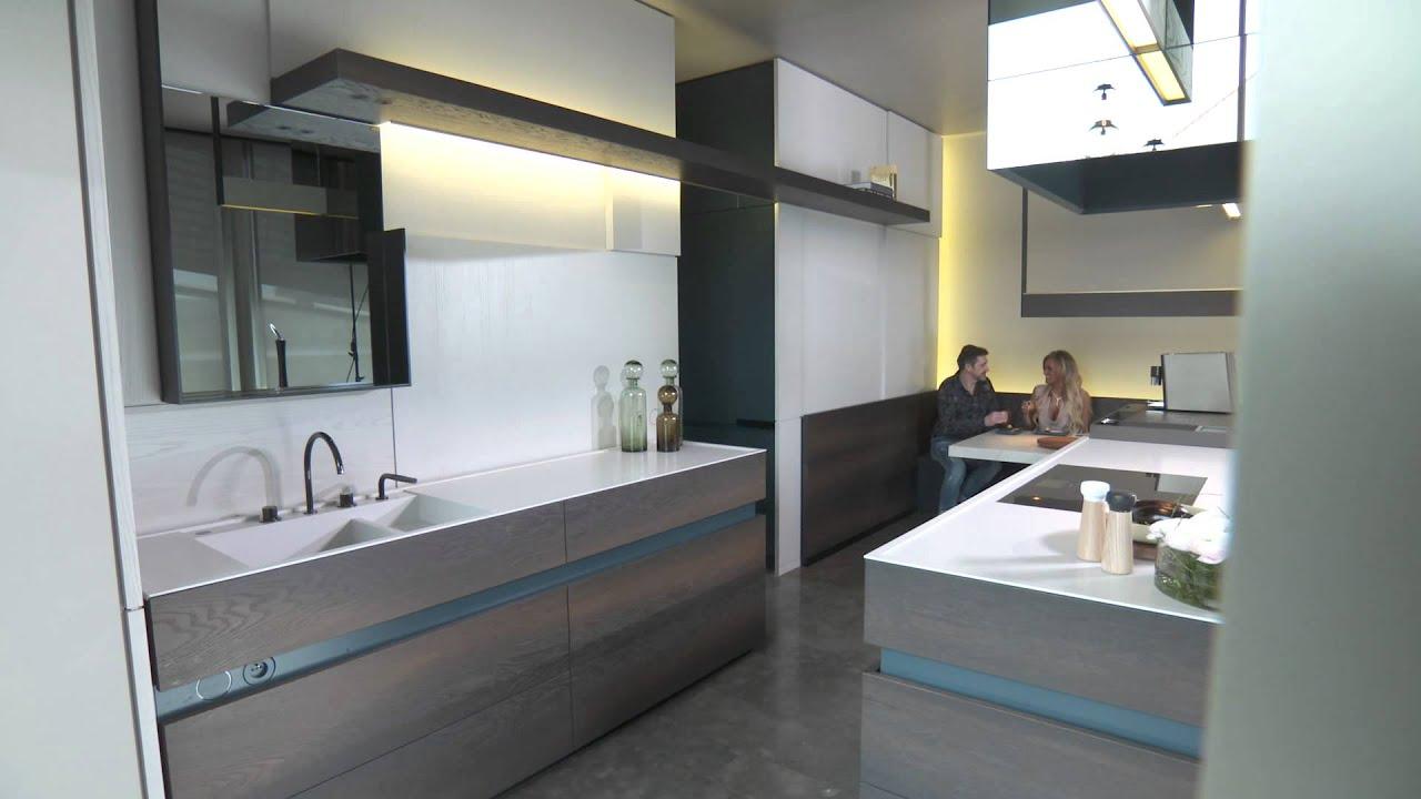 Bedrijfsspot interieur maddens conceptkeuken te roeselare for Interieur maddens