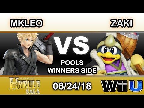 Hyrule Saga - Echo Fox MVG | MKLeo (Cloud) Vs. zaki (King Dedede) Pools - Smash 4
