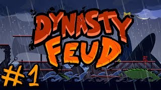 Dynasty Feud - #1 - All Out Brawl Out! (4 Player Gameplay)