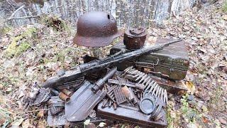 Коп по войне - Война в болотах. На передовой (on the front line) / Searching with Metal Detector