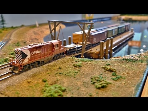 Fascinating Model Railway - US  Scenes - 9. European N-Scale Convention Stuttgart