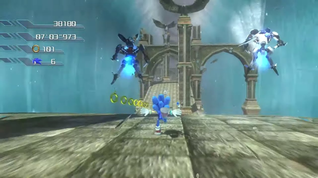 Sonic the Hedgehog 2006 Remastered (P-06) - Wave Ocean and Kingdom Valley -  S Rank