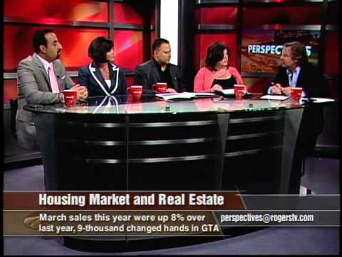James Hussaini at Rogers TV Panel - about Toronto Real Estate Market